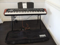 Korg SV-1 88 Stage vintage Piano plus Korg stand and carry case.