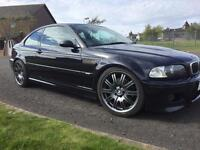 BMW M3 E46 - manual, coupe, 19inch alloy wheels