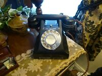Vintage GPO 300 Series telephone from 1937-1959 and converted for UK use, see listing for details.