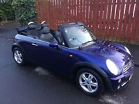 MINI CONVERTIBLE 1 YEAR MOT FULL 71K MILES RUNS AND LOOKS MINTED