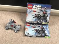 Lego Star Wars microfighter