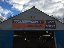 BUCKSBURN GARAGE JACK'S SERVICE 07512707407
