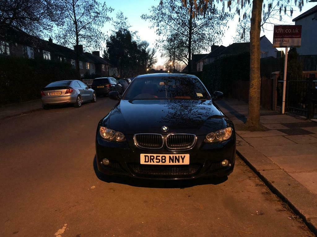 320d Bmw Black 2010 Black Exterior With Red Interior In Hammersmith London Gumtree