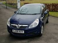 Vauxhall corsa 1.0l expression