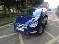 Ford Galaxy Zetec Tdci (blue) 2014