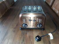 Copper Morphy Richards 4 Slice Toaster For Sale