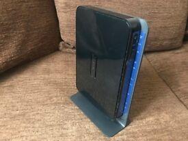 Netgear N600 Wifi Dual Band router/modem