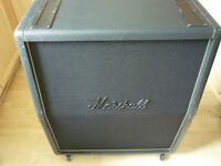 MARSHALL 1960 TV TALL VINTAGE 4X12 ANGLED SPEAKER CAB 100W