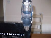 New Magic decanter wine aerator