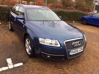 Audi A6 Avant 2.0 TDI Estate 2006 with Satellite Navigation System