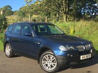 2005 X3 2.0 DIESEL SE LEATHER MANUAL SERVICE HISTORY MOT'D DEC 16 EXCELLENT CONDITION