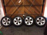BMW 5 Series F12 17inch Alloy Wheels with Winter Tyres