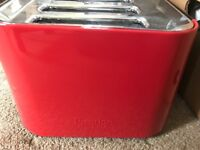 Brand New Prestige Toaster 4 Slice Red