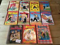 Job Lot of Broons and Oor Wullie Annuals can deliver locally