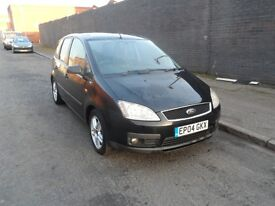 2004 FORD C-MAX 1.6 TDCI DIESEL MANUAL BLACK