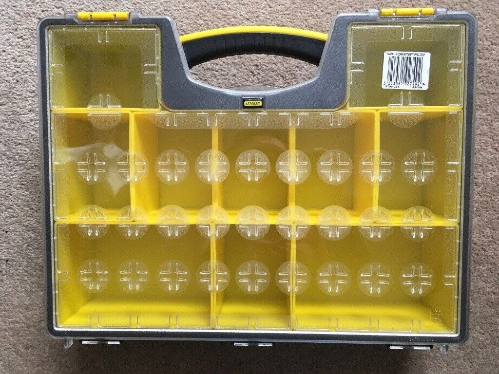 Stanley Deep Organiser - 10 Compartment