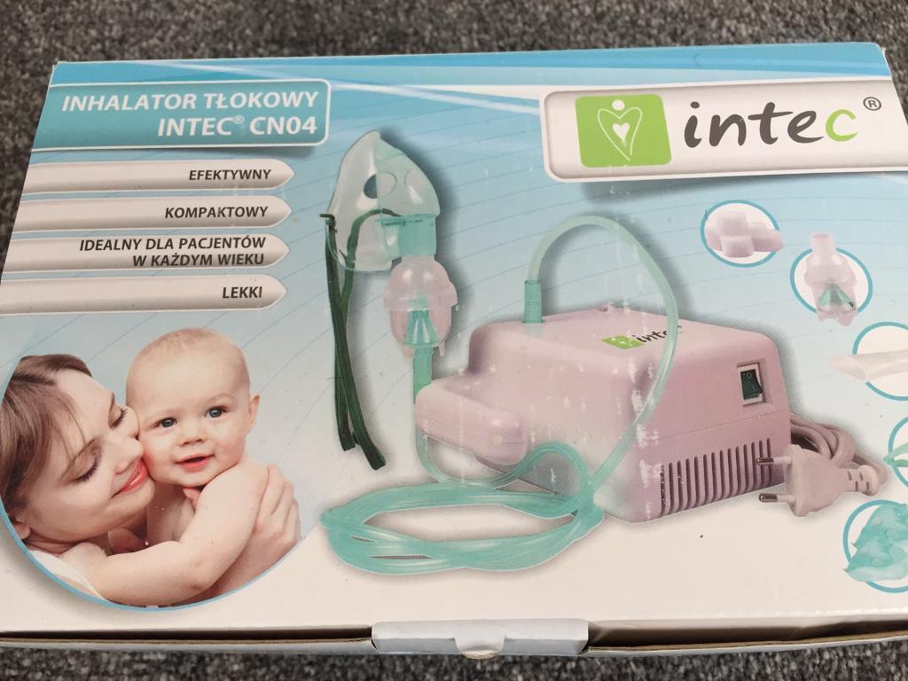 Intel piston nebuliser for children/adults
