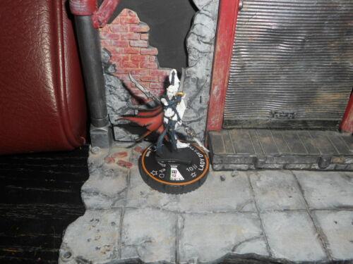 CUSTOM Heroclix LADY DEATH Figure Miniature Pro-painted SEXY Female Hell