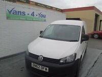 2013 vw caddy 102 tdi uk van up in the miles down in the money vans-4-you.co.u k belfast derry