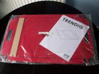 Brand new Ikea Trendig Red Steel Flatpack Tray