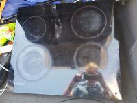 samsung halogen ceramic hob touch screen
