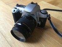Canon EOS 500 35mm SLM camera with Canon lenses