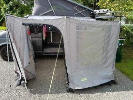 Khyam Sun Canopy with Full Awning front and side panels