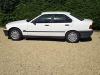 BMW 318 4 DOOR SALOON, FIRST REGISTERED IN AUGUST 1993, PETROL,2 OWNERS,MOT UNTIL DECEMBER 2017