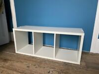 Discontinued Ikea STOLMEN shelf with three compartments