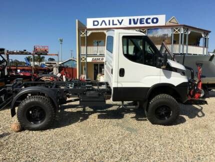 Iveco Daily 4x4 Euro 6 model ON THE ROAD!!