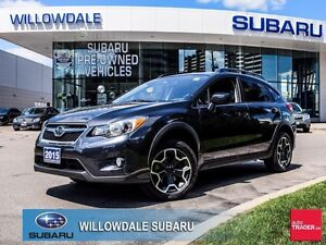 2015 Subaru XV Crosstrek Manual Touring No Accidents, One Owner,