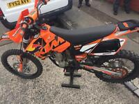 Ktm 250cc on road 2005 only £1650