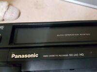 Panasonic Video Cassette Recorder: NV-J40