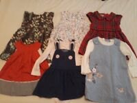 Bundle of baby girl winter clothes 9-12 months