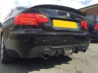 Vorsteiner Carbon Fibre Rear Diffuser for BMW E92 and E93 335D 335i 330D 330i 325D 325i 320D 320i