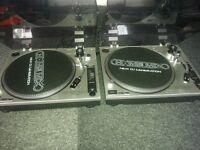 Pair of Homemix DJ Turntables