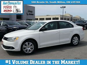 2012 Volkswagen Jetta TREDLINE, A/C, HEATED SEATS AND MORE!!! CR