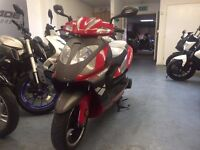 Lexmoto Gladiator 125cc Automatic Scooter, 2013 Model, Part ex to Clear