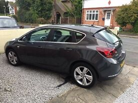 Vauxhall Astra 1.4 i VVT 16v SRi 5dr - Great Car 2, low mileage, 2 owners from new