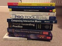 Various music tech books