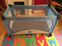 Hauck travel and play cot
