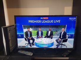 Seiki 32 inch LCD TV with Sky HD box £80