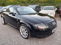 Audi TT 1.8 T Roadster 2dr Petrol Manual, FULL SERVICE HISTORY. GPI CLEAR. WARRANTED MILEAGE