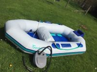 Avon Typhoon 6ft Rubber Dinghy with outboard bracket