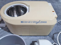 Gelato Chef 2000 by Magimix. In perfect condition with instructions