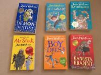 6 David walliams kids books