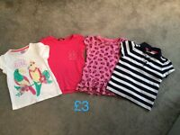 Girls shoes and clothes suitable for ages 3-4
