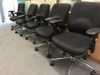4 Premium Office Chairs for sale in Chertsey