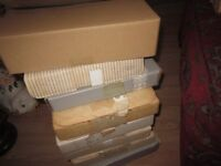 BRADEX :20 PAINTED PLATES IN MINT CONDITION NEVER BEEN OUT OF THERE POSTING BOXES IN AROUND 30 YEARS