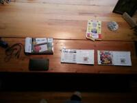 Nintendo New 3DS with 2 games